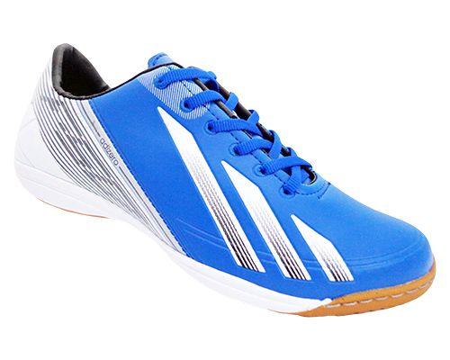 625e49b29a Tênis Futsal Adidas Adizero F50 Azul e Branco - loja o barato e aqui